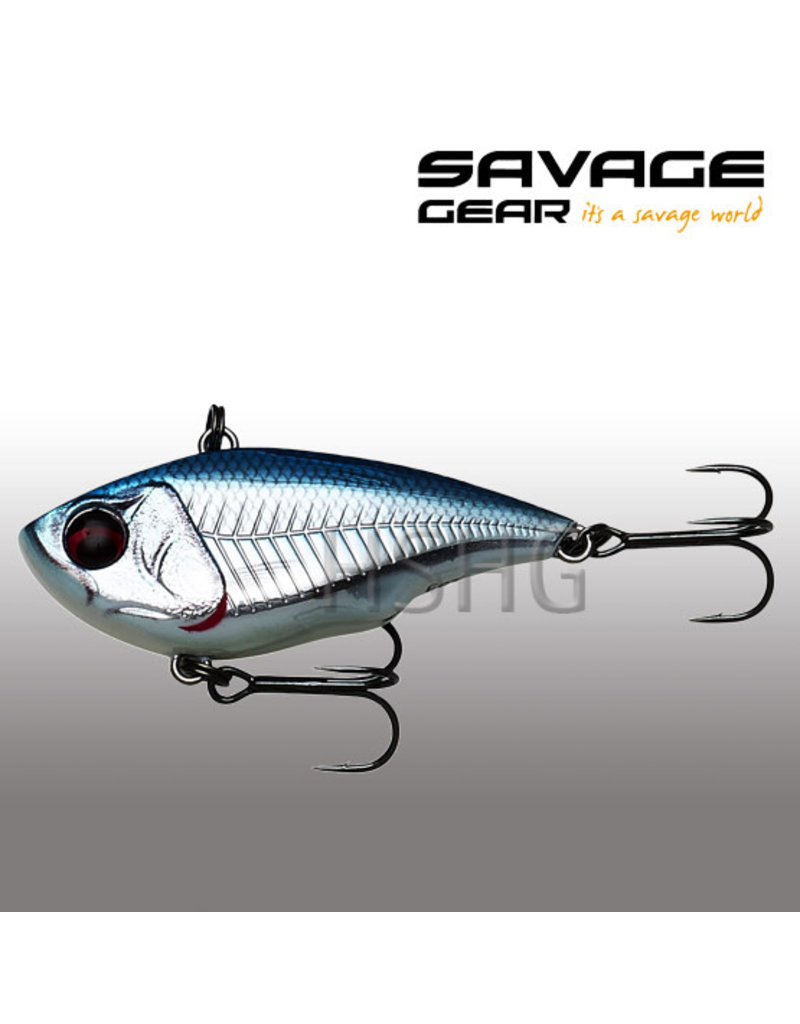 Savage Gear Savage Gear Fat Vibes Sinking Blue Chrome 22gr 6.6cm