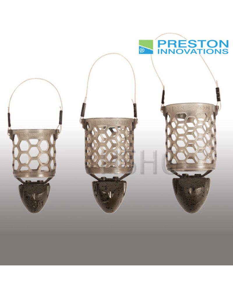 Preston innovations Preston Hexmesh Plastic Bullet Feederkorven