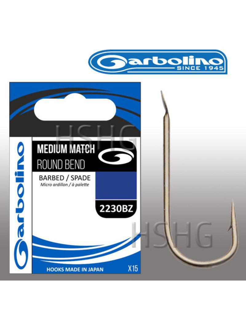 Garbolino Garbolino Medium Match Witvishaak 2230BZ Round Bend