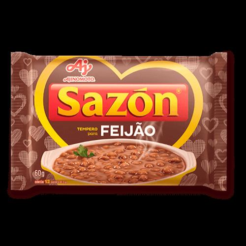 Ajinomoto Tempero Sazon Marrom Feijão 60g