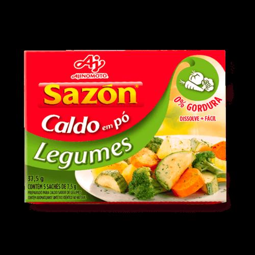 Ajinomoto Caldo em Pó Legumes Ajinomoto 37.5g