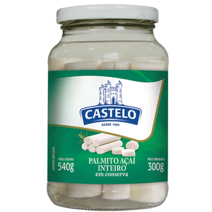 Castelo Palmito Açaí Inteira Castelo 300g