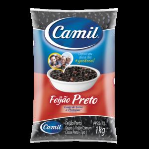 Camil Feijão Preto Tipo 1 Camil 1kg