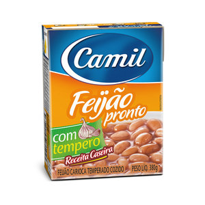 Camil Pre-Cooked Carioca Beans Camil 380g