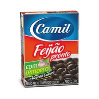 Feijâo Preto Precozido Camil 380g