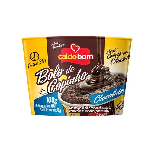 Caldo Bom Bolo de Copinho Chocolate Caldo Bom 100g