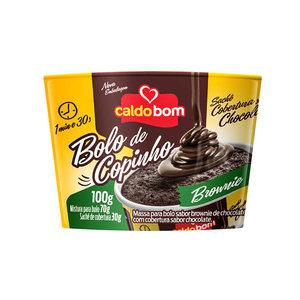 Caldo Bom Bolo de Copinho Brownie Caldo Bom 100g