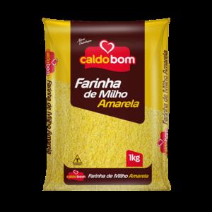 Caldo Bom Farinha de Milho Amarela Caldo Bom 1kg