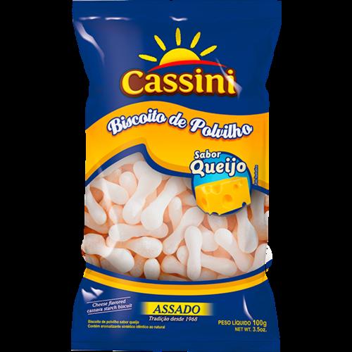 Cassini Biscoito de Polvilho Queijo Cassini 100g