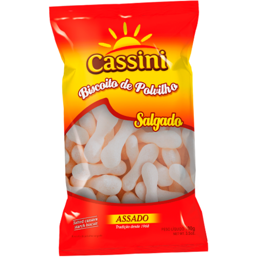 Cassini Biscoito de Polvilho Salgado Palito Cassini 200g