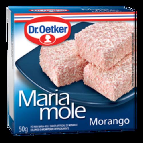 DrOetker Maria Mole sabor Morango Dr Oetker 50g