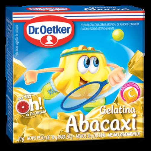 DrOetker Gelatina Abacaxi Dr Oetker 20g
