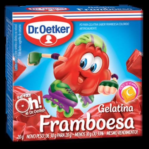 DrOetker Gelatina Framboesa Dr Oetker 20g