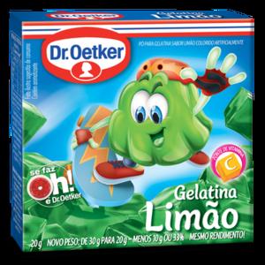 DrOetker Gelatina Limão Dr Oetker 20g