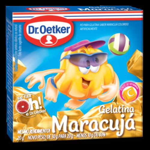 DrOetker Gelatina Maracujá Dr Oetker 20g