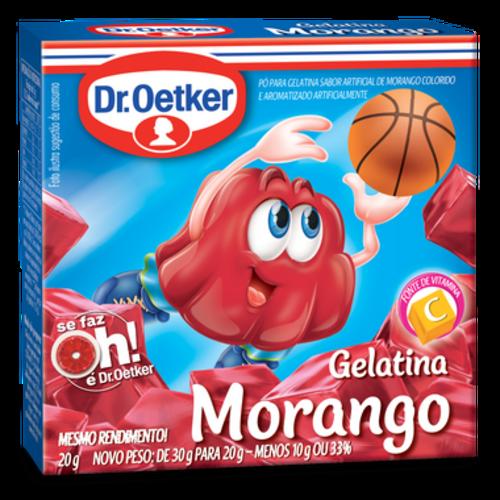 DrOetker Gelatina Morango Dr Oetker 20g