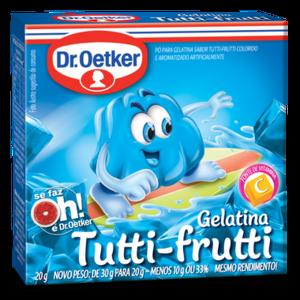 DrOetker Gelatina Tutti Frutti Dr Oetker 20g