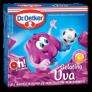 DrOetker Gelatina Uva Dr Oetker 20g