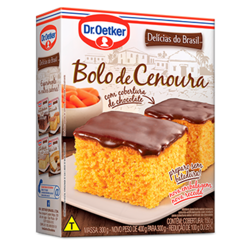 DrOetker Carrot Chocolate Cakemix  Dr Oetker 405g