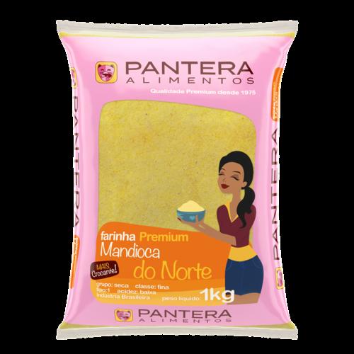 Pantera Farinha de Mandioca do Norte Pantera 1kg