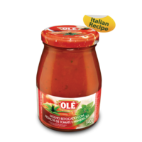 Tomato Sauce with Chopped Tomato and Basil vd Ole 340g