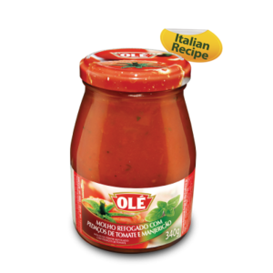 Ole Molho Tomate Refogado Manjericao vd Ole 340g