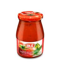 Tomato Sauce with Chopped Tomato and Olives vd Ole 340g