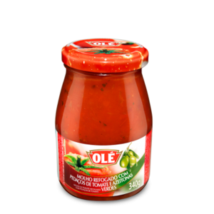 Ole Molho Tomate Refogado Azeitona vd Ole 340g