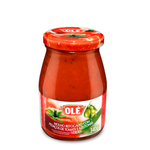 Ole Tomato Sauce with Chopped Tomato and Olives vd Ole 340g
