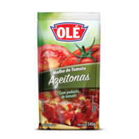 Tomato Sauce with Olives Pouch 340g