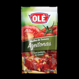 Ole Molho Tomate com Azeitonas Sache Ole 340g