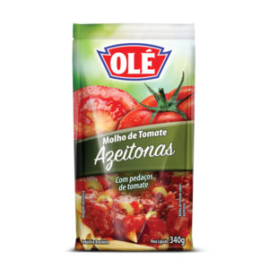 Ole Tomato Sauce with Olives Pouch 340g