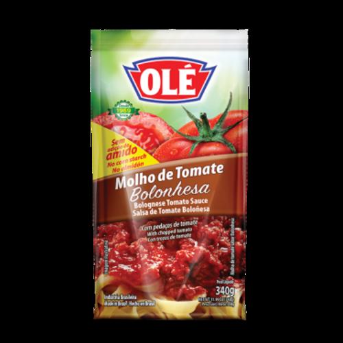 Ole Molho Tomate Bolonhesa Sache 340g