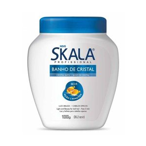 Skala Creme Tratamento Banho de Cristal Skala 1kg