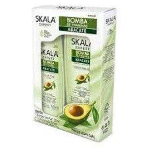 Skala Kit Shampoo Condicionador Abacate Skala 2x325ml