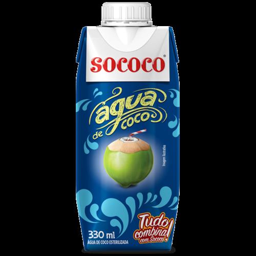 Sococo Cocoswater Sococo tp 330ml