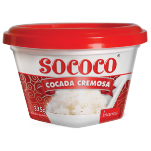 Sococo Cocada Branca Cremosa Sococo 335g