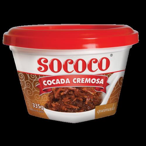 Sococo Cocada Queimada Cremosa Sococo 335g