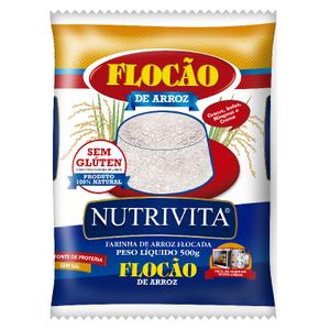 Nutrivita Flocão de Arroz Nutrivita 500g