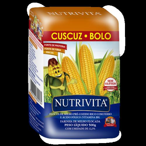 Nutrivita Flocos de Milho Nutrivita 500g