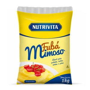 Nutrivita Gele korenmeel Nutrivita 1kg