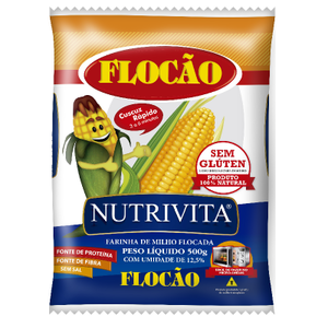 Nutrivita Pre-Cooked Flocked Corn Meal 500g