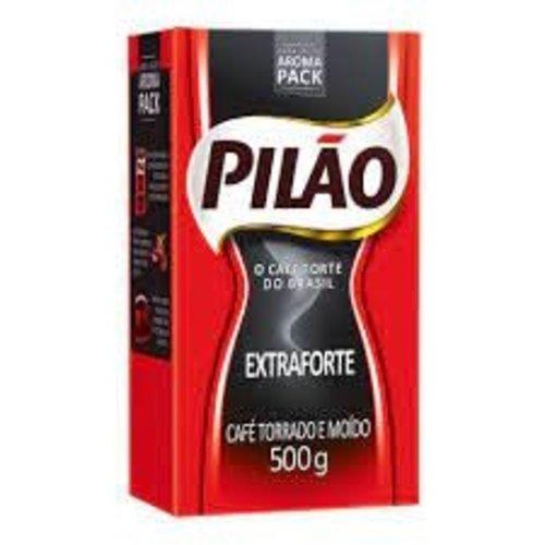 Pilao Cafe Torrada Moido a vacou Extra Forte Pilao 500g