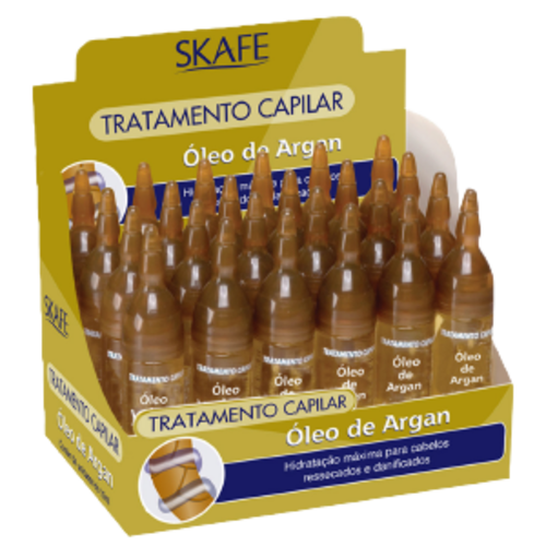 Skafe Ampola   SKAFE 10ml  OLEO ARGAN