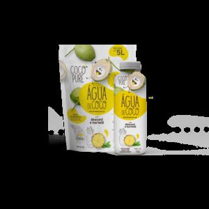 Coco Pure Agua de Coco Desidratada em pó com Abacaxi e Hortelã 200g