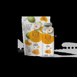 Coco Pure Agua de Coco Desidratada em pó com Polen e Propolis 200g