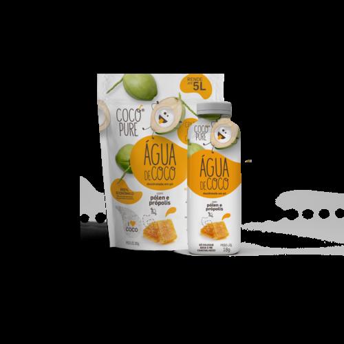 Coco Pure Copy of Agua de Coco Desidratada em pó com Gengibre e Limao 200g