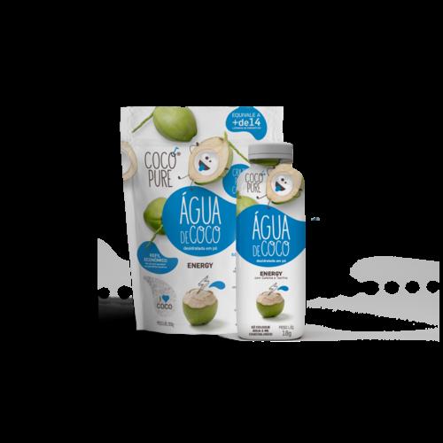 Coco Pure Copy of Agua de Coco Desidratada em pó com Polen e Propolis 200g