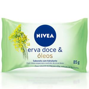 Nivea Sabonete Hidratante Erva Doce Nivea 85g