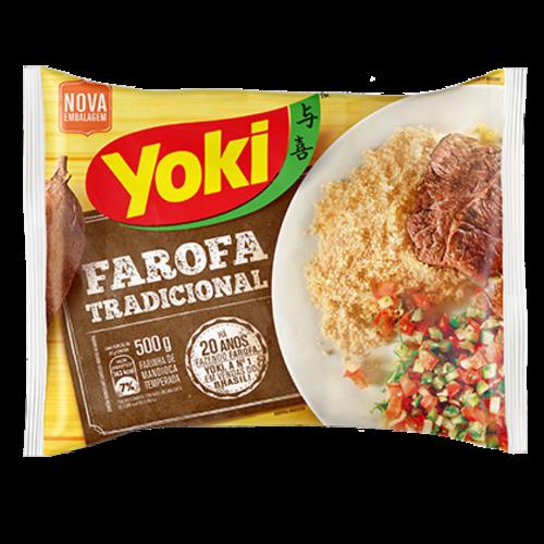 Yoki Farofa Tradicional Yoki 500g